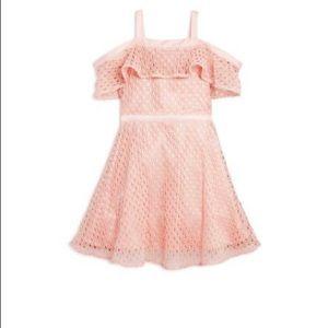 Bardot Junior Girls, Mesh cold Shoulder Dress